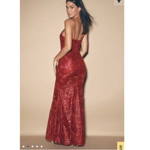 Lulus Red Prom Dress
